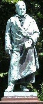 Gauss szobra Braunschweigben