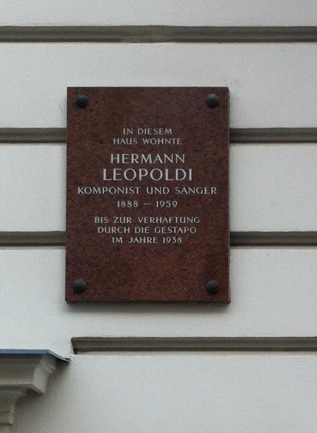Gedenktafel Hermann Leopoldi Marxergasse 25.jpg