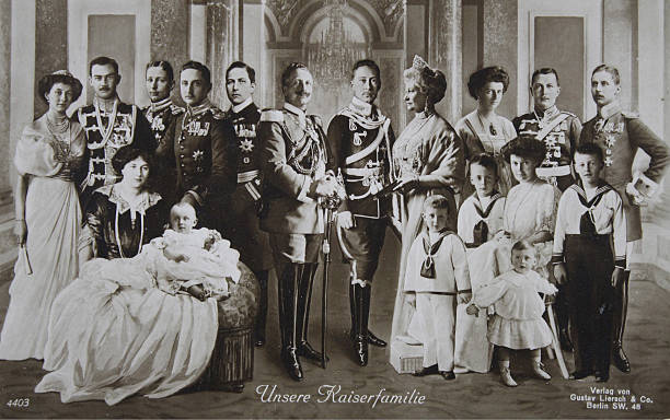 File:German Kaiser Wilhelm II with his large family Photomontage 1910.jpg