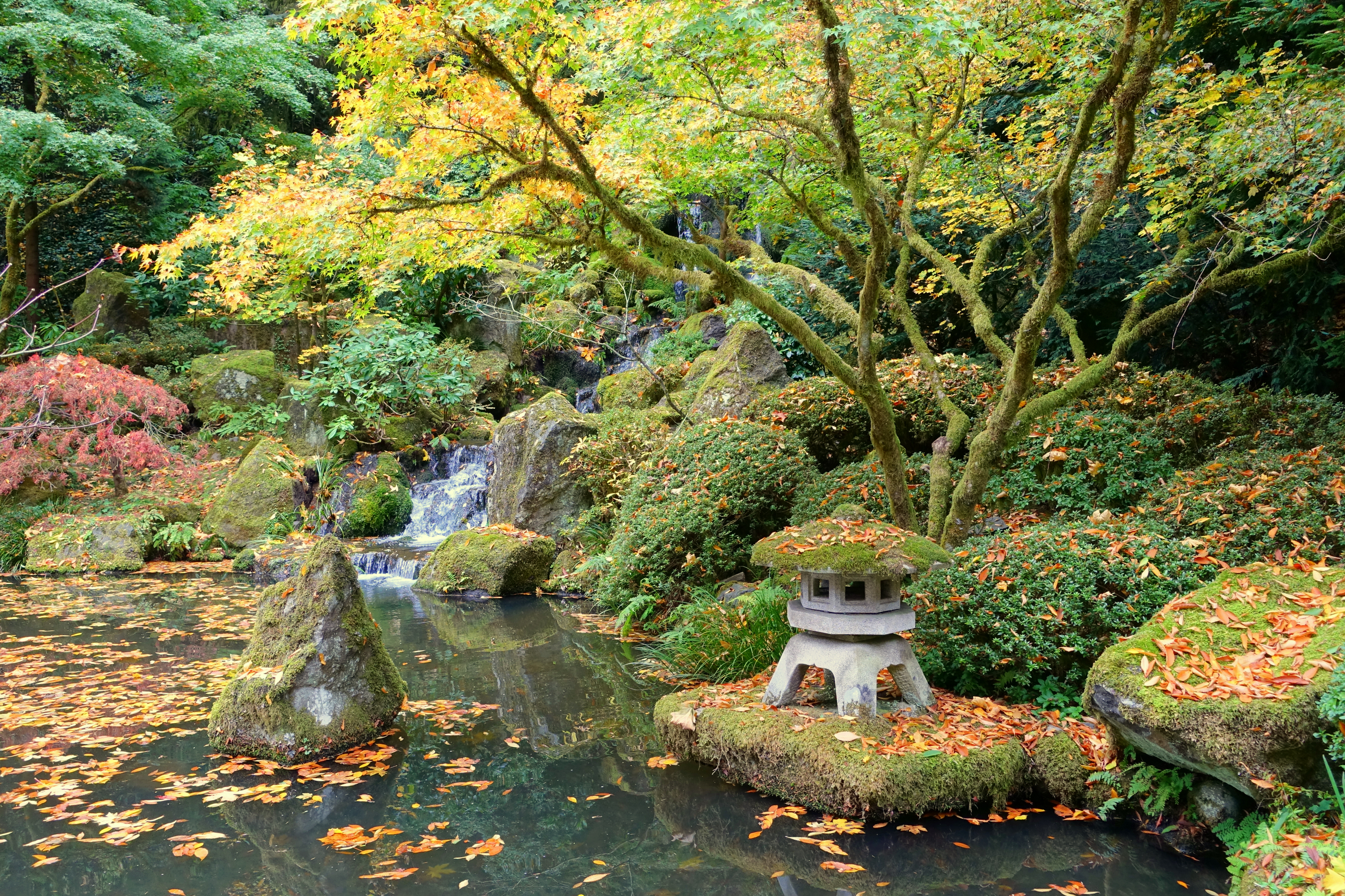 File Heavenly Falls Portland Japanese Garden Portland Oregon Dsc08320 Jpg Wikimedia Commons