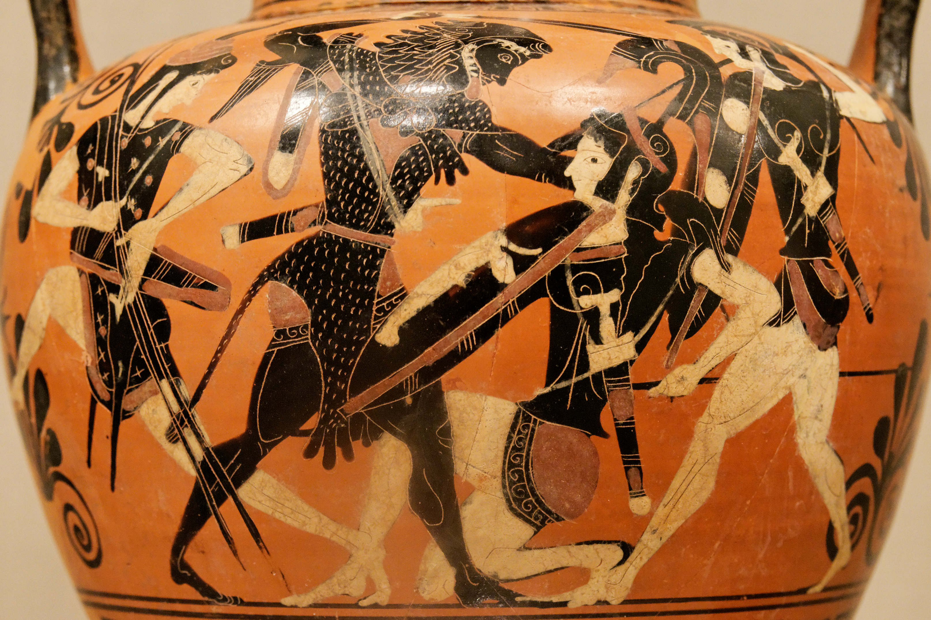 Hercules stealing the girdle of hippolyta