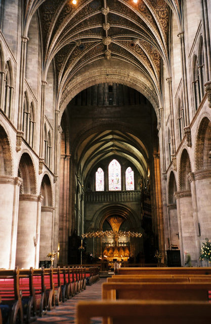 Hereford is one of the church's forty-three cathedrals, many with histories stretching back centuries.