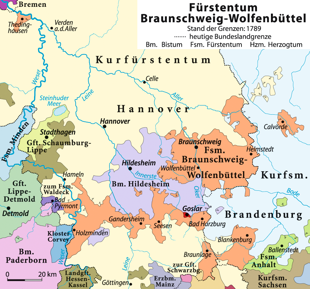 Principality of BrunswickWolfenbttel Wikipedia