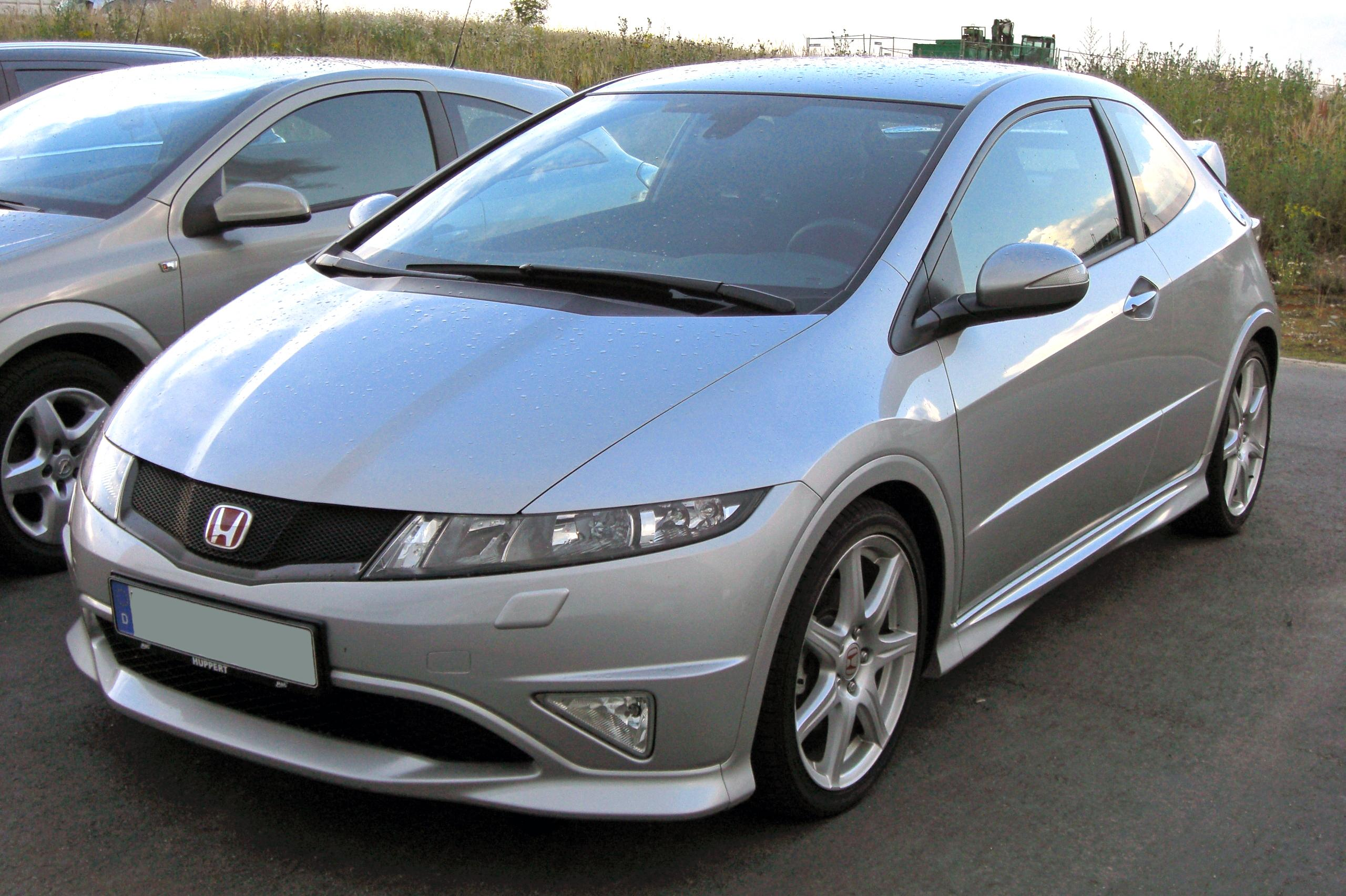 File:Honda Civic VIII Type R 20090706 Front.JPG