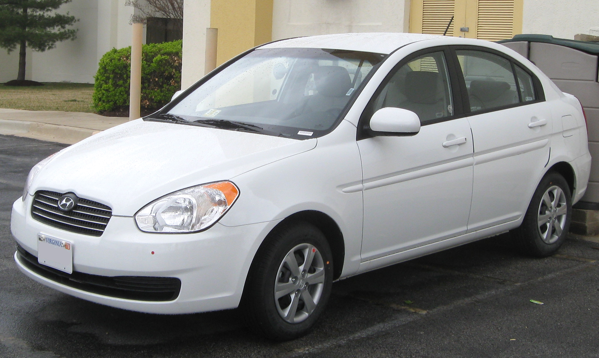 File Hyundai Accent Sedan 03 24 2011 Jpg Wikimedia Commons