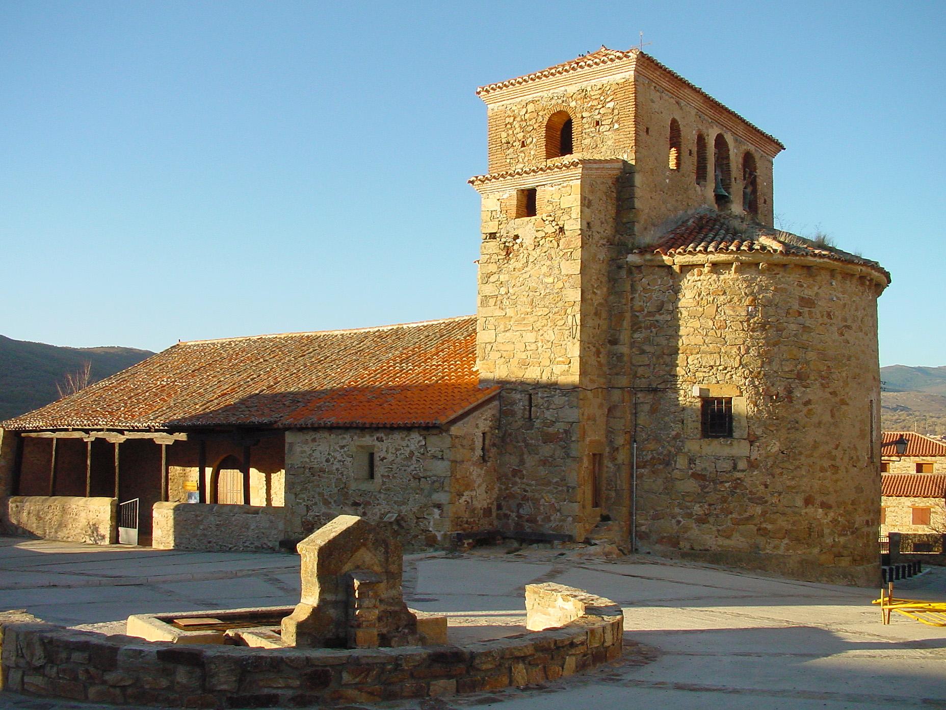 Resultado de imagen de Prádena del Rincón iglesia santo domingo