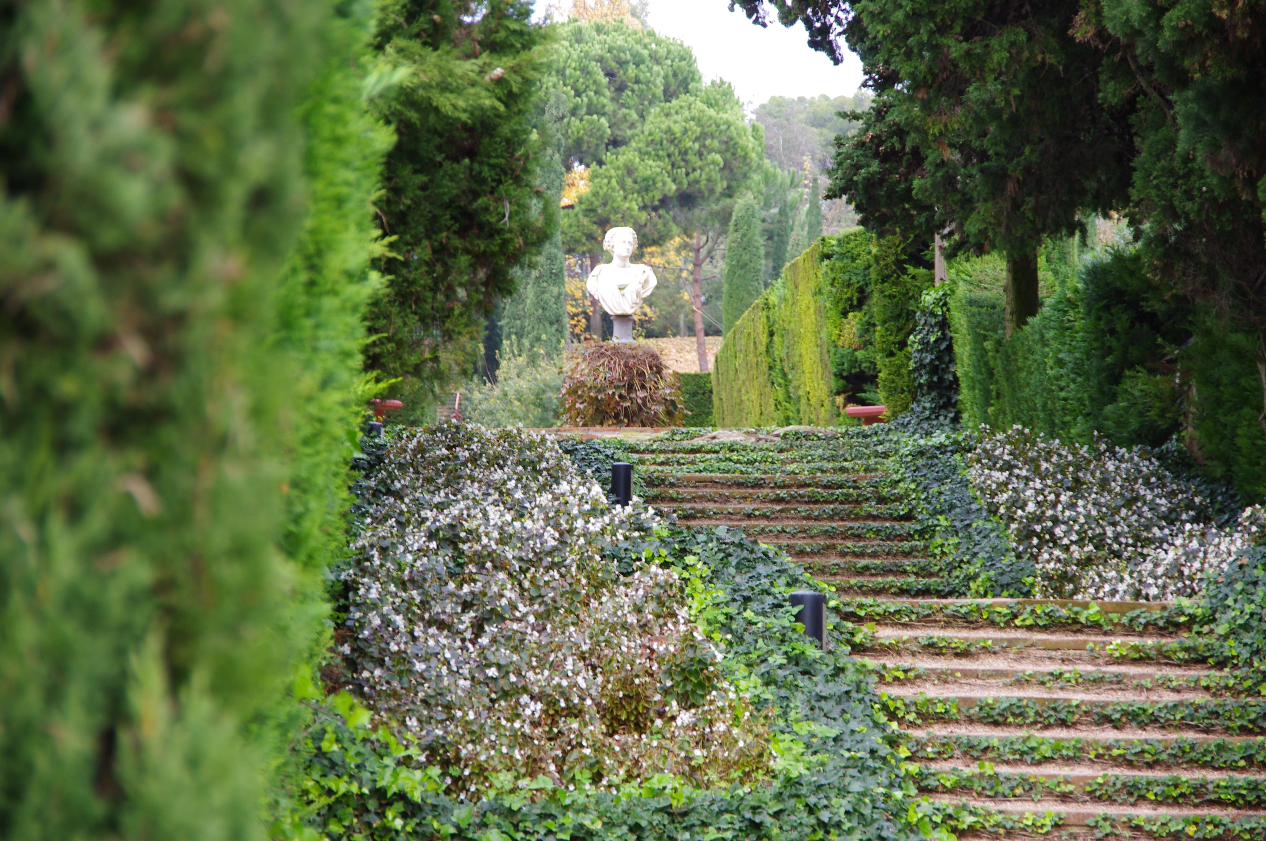 A snippet of Santa Clotilde Gardens: ventures in Lloret De Mar