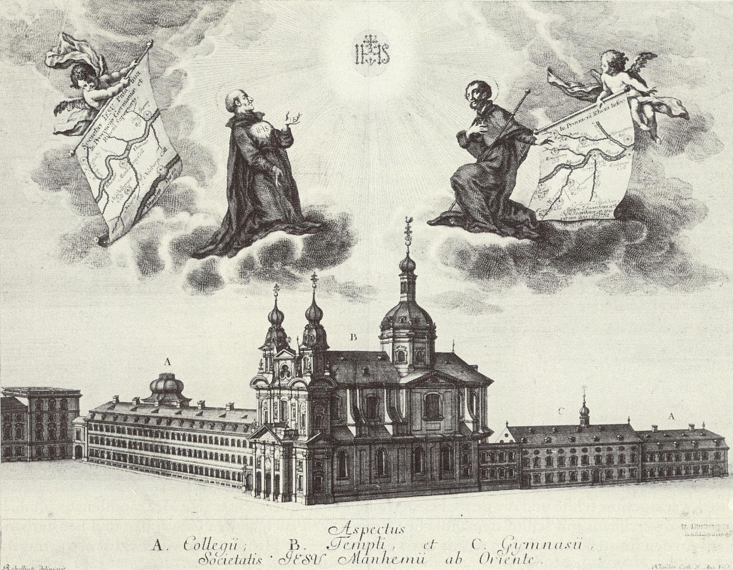 File:Jesuitenkirche Mannheim Basilica Carolina 1753 Gebr Klauber.jpg