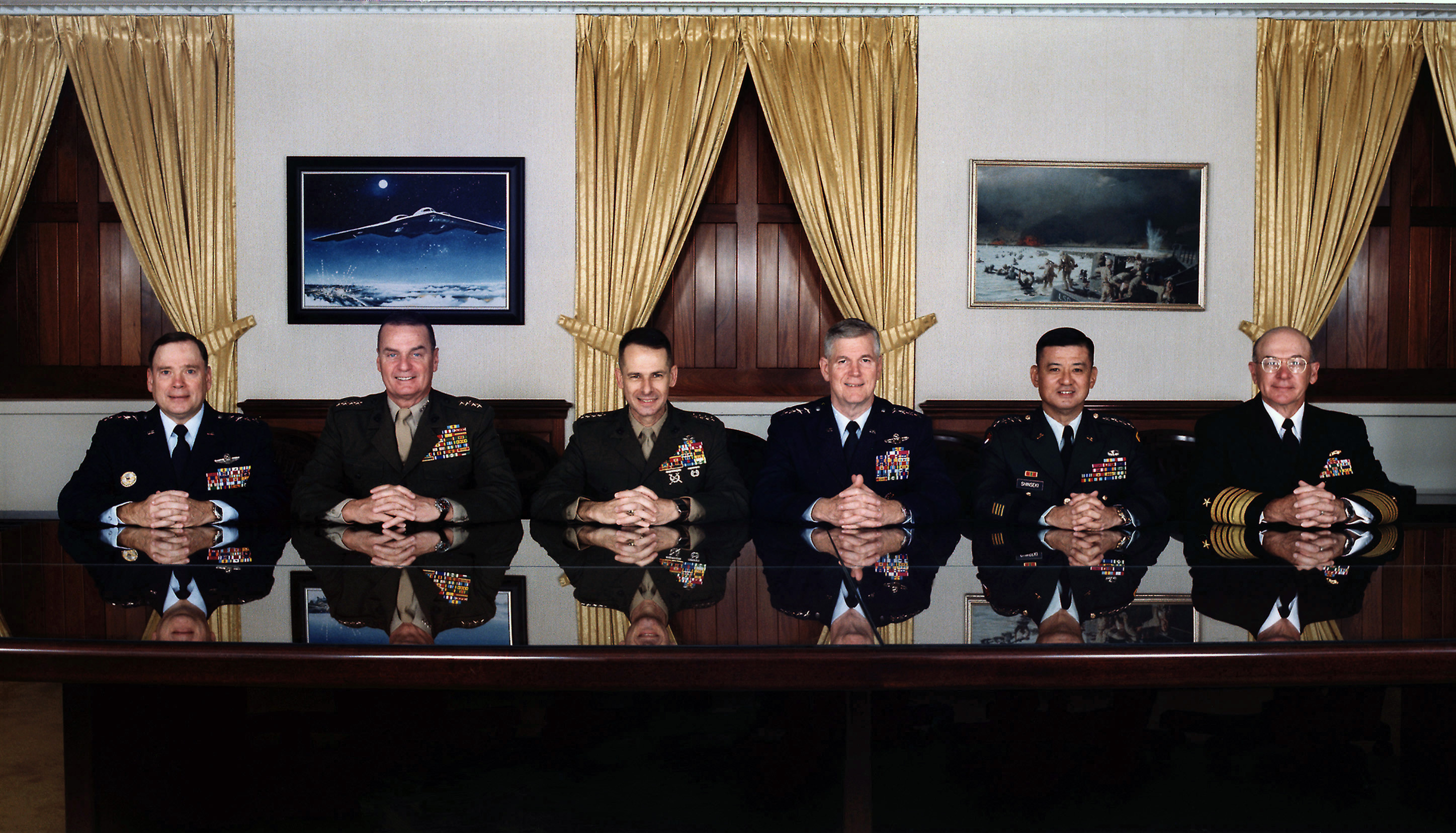 Description joint chiefs of staff december 2001