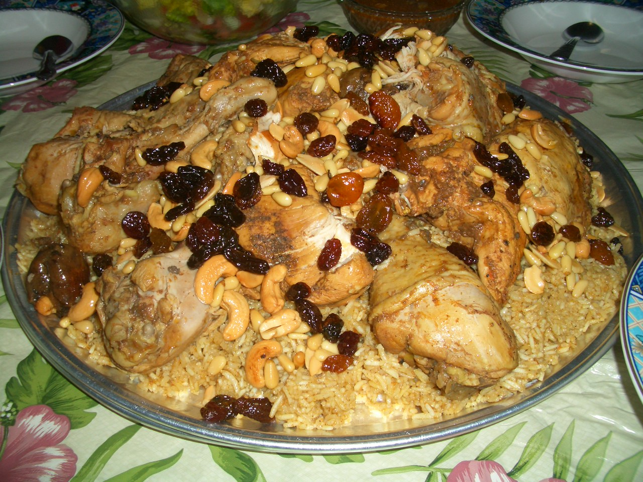 Kabsa wikipedia alternative names kabsah arabic makbs arabic forumfinder Choice Image