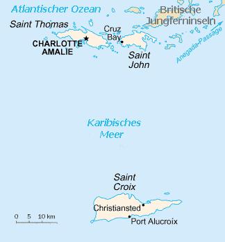 Cook Island Karte