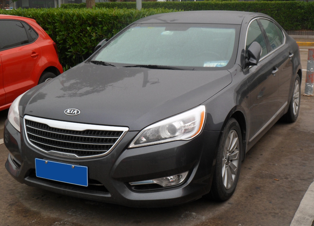 stands autoevolution sedan kia york out new in news cadenza