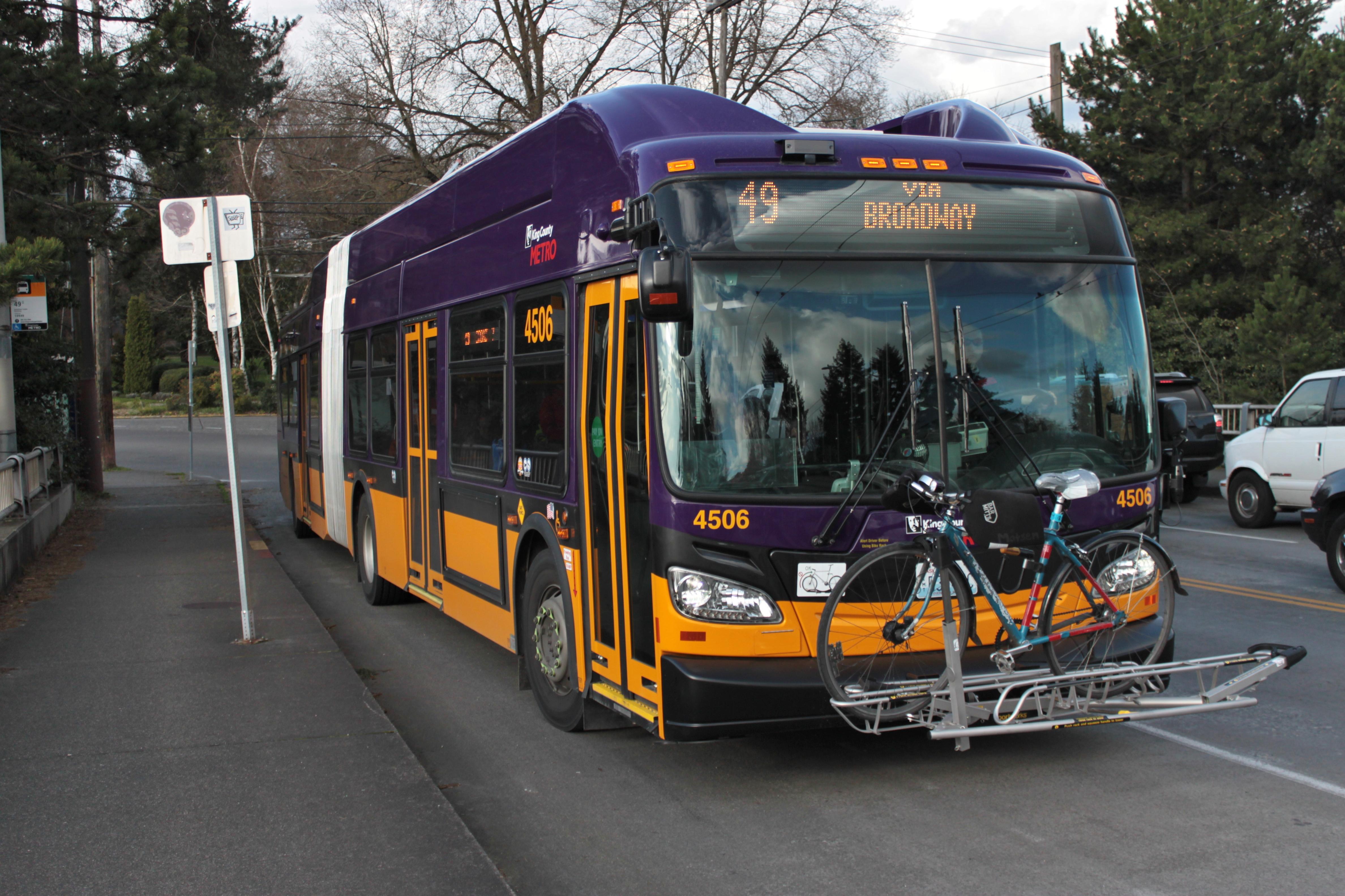 File:King County Metro 4506 trolleybus on route 49 jpg
