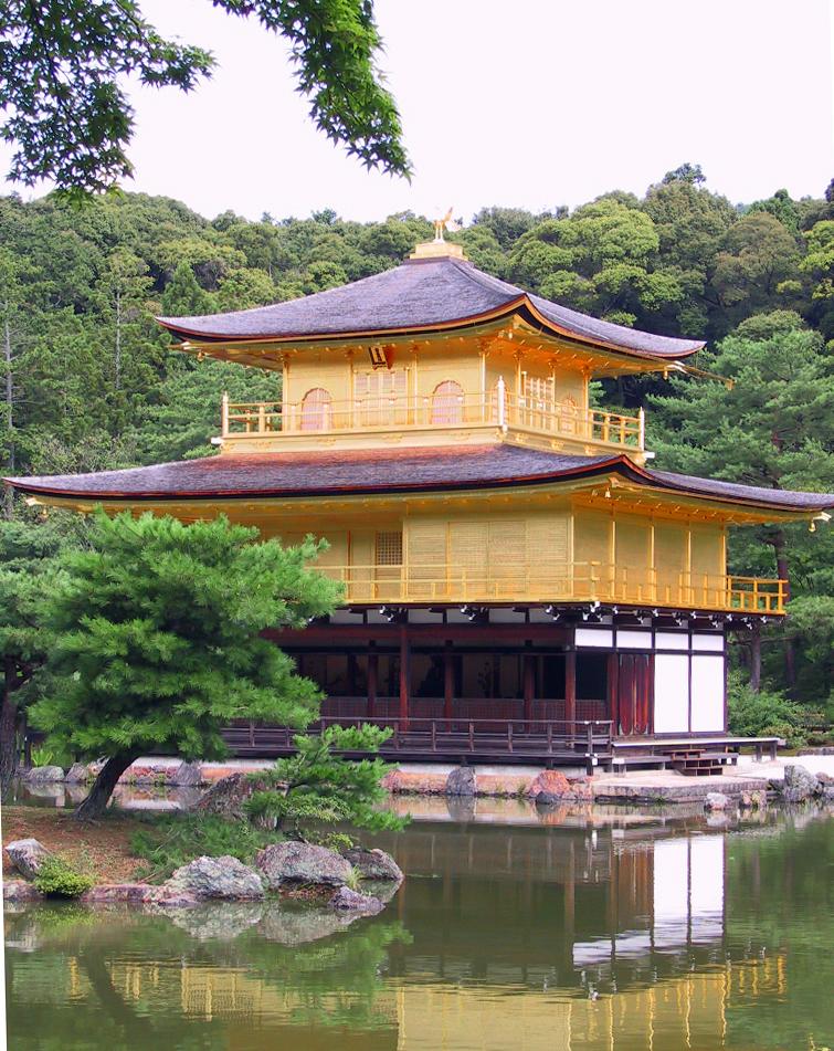 Kinkaku-dži, Zlatý pavilon