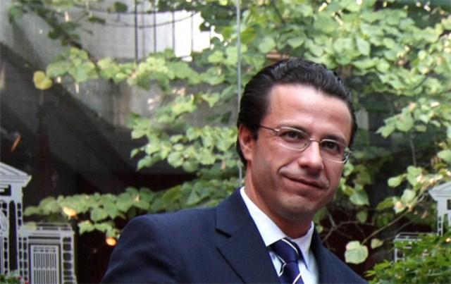 Javier Fernández-Lasquetty ocupará el puesto 9 en la lista electoral de Ayuso. Autor: PP de Madrid, 2013. Fuente: ppmadrid.es (CC BY 3.0.)