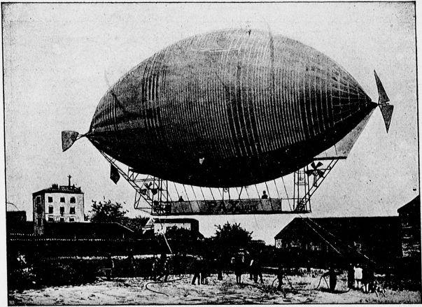 ballon dirigeable catastrophe