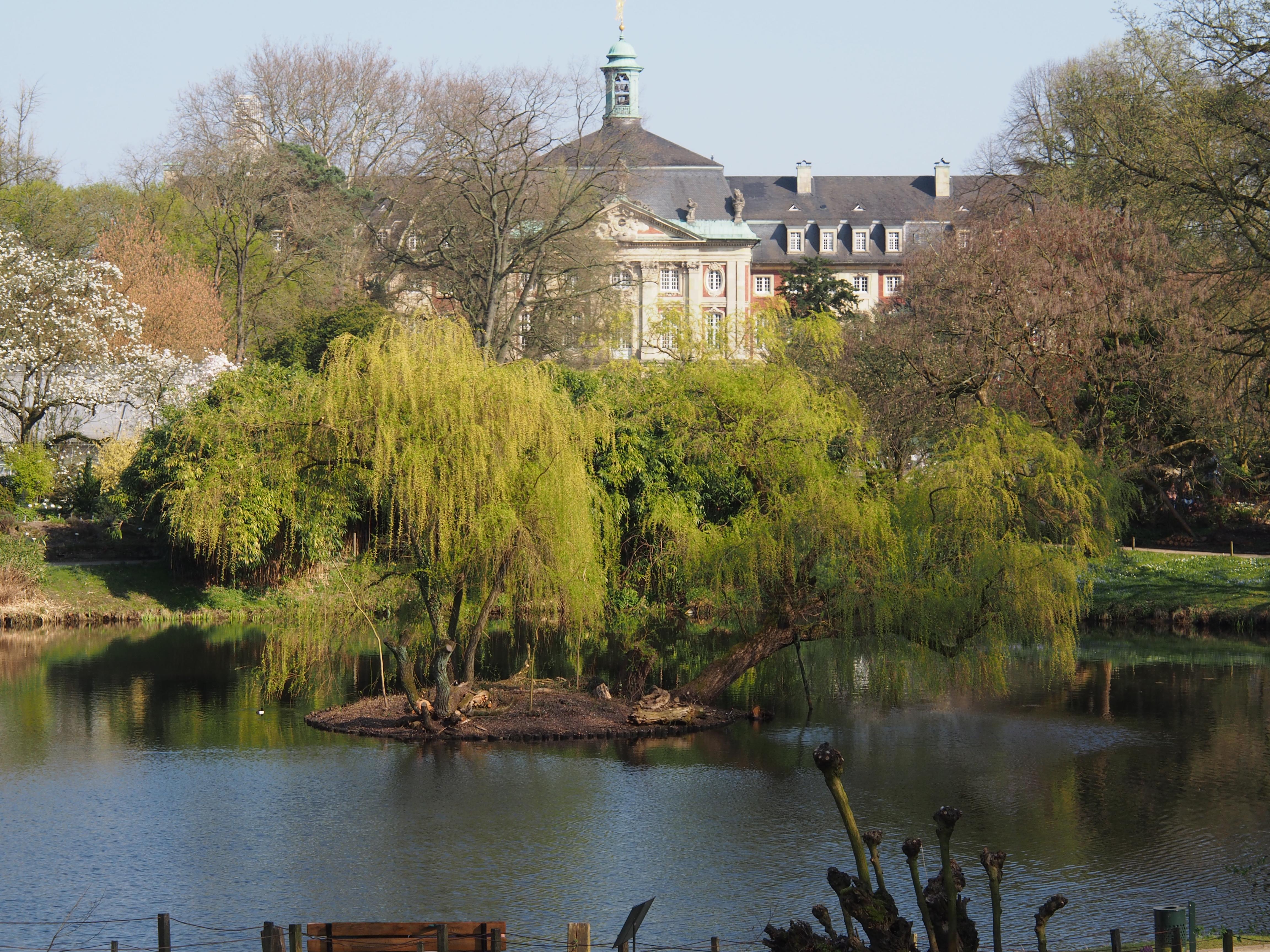 Filemünster Schloss Botanischer Gartenjpg Wikimedia Commons