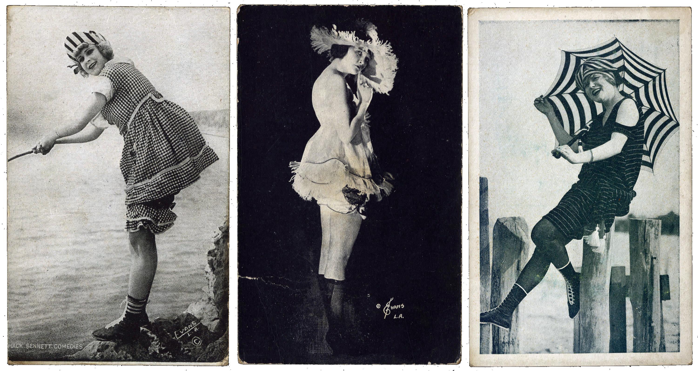 Mack sennett bathing beauties photos Glamoursplash: 1960's Fashion Rules in the Sky