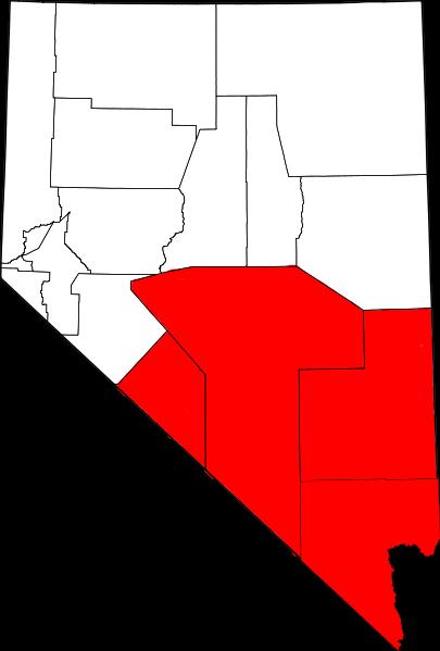 Pahrump To Las Vegas >> Southern Nevada - Wikipedia