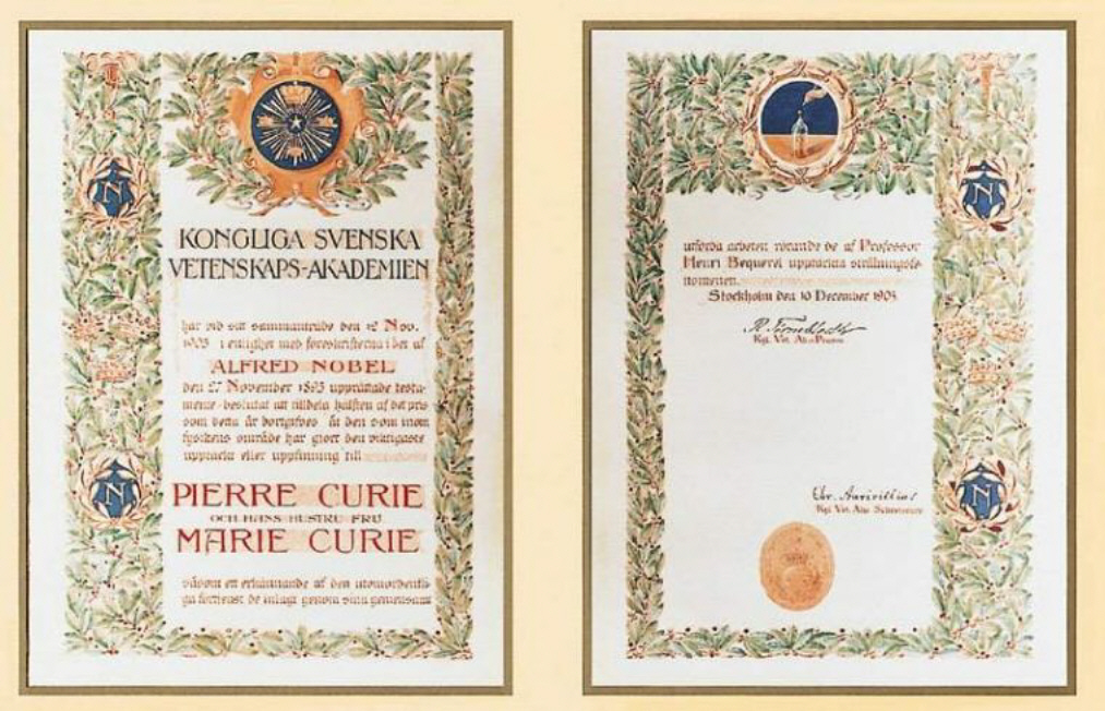 Marie Curie Nobel Prizes How Many