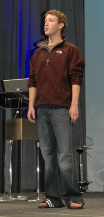 Mark Zuckerberg, May 2007