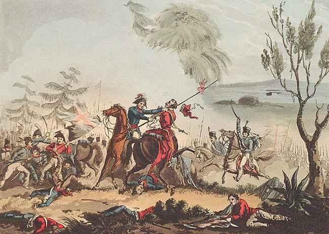 Depiction of Batalla de La Albuera
