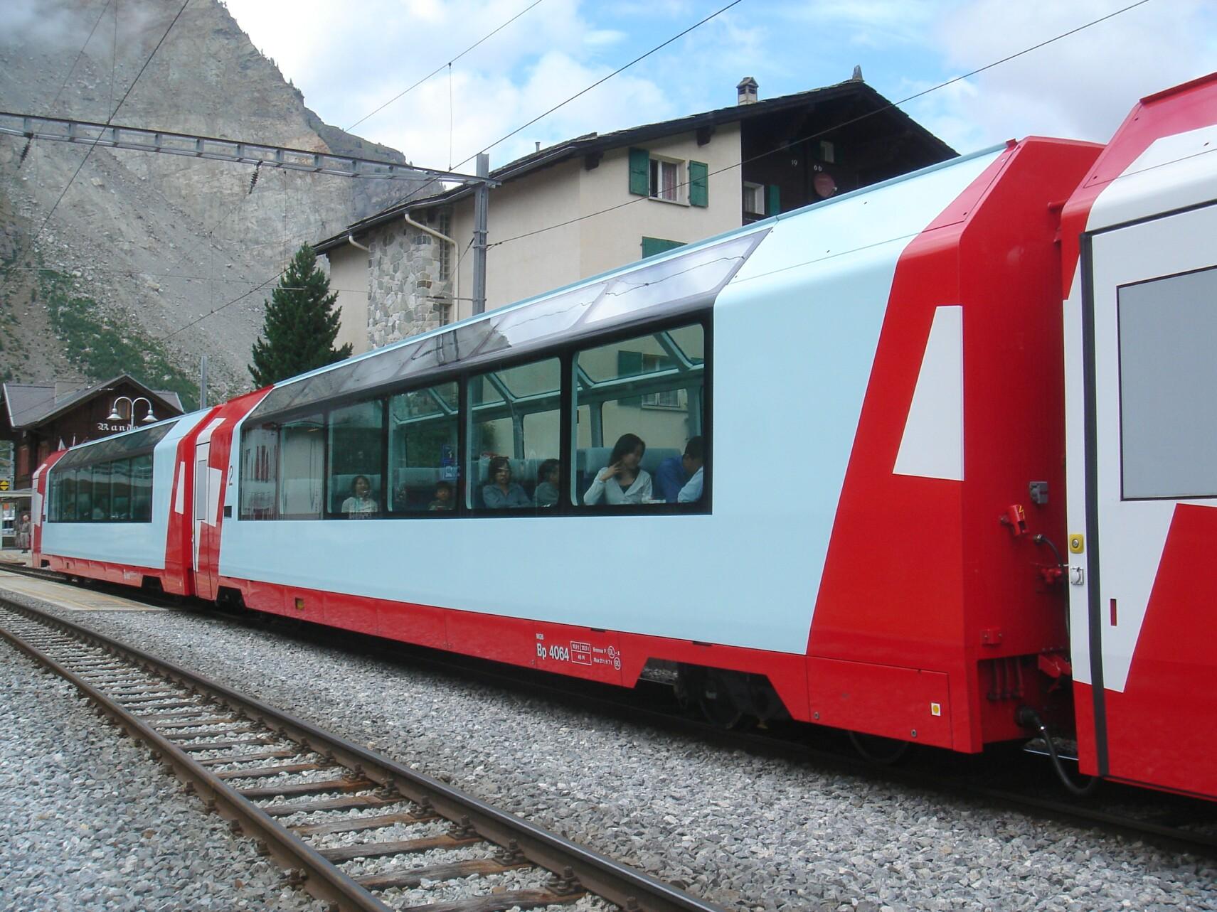Bp Stock Chart: Matterhorn Gotthard Bahn panoramic coach Bp 4066 and 4064 ,Chart
