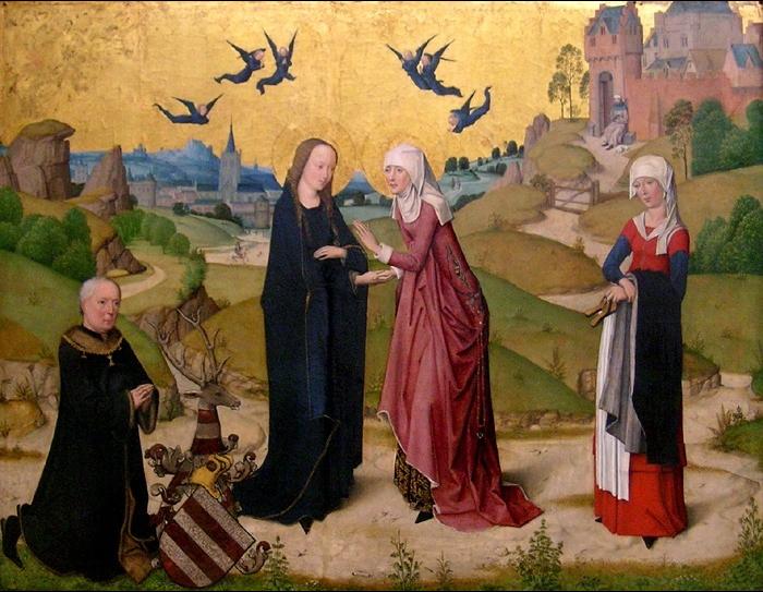 File Meister Des Marienlebens Visitation Jpg Wikimedia