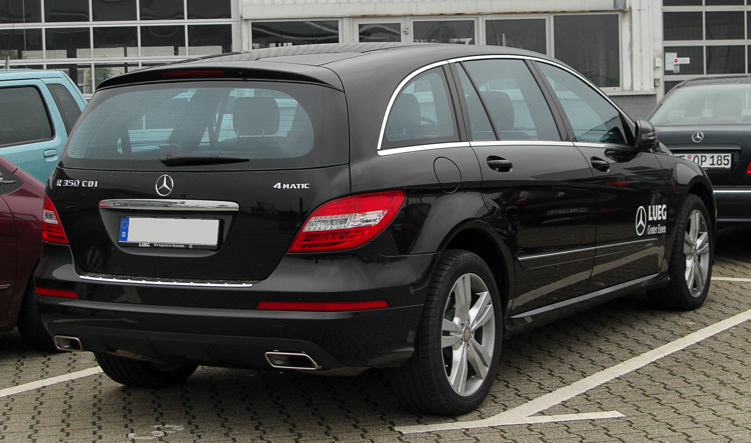 file mercedes r 350 cdi 4matic lang v251 facelift rear. Black Bedroom Furniture Sets. Home Design Ideas