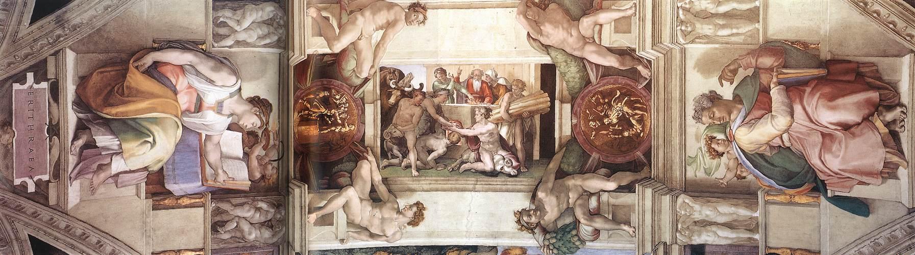 File Michelangelo Sistine Chapel Ceiling Bay 7 Jpg