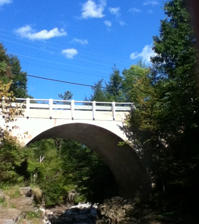 Middlebury Gorge Concrete Arch Bridge