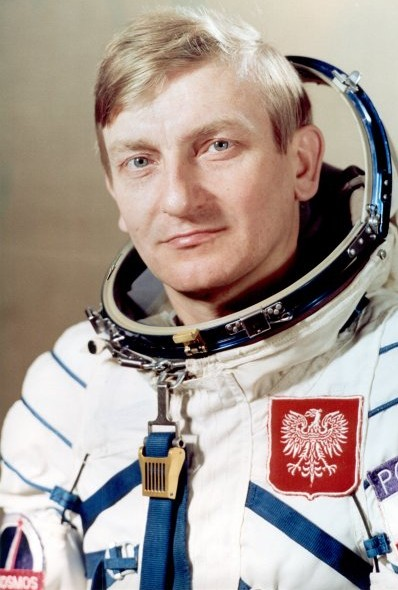 Cosmonaut Miroslaw Hermaszewski, first Polish national in space Source: Wikipedia Miroslaw_H.jpg