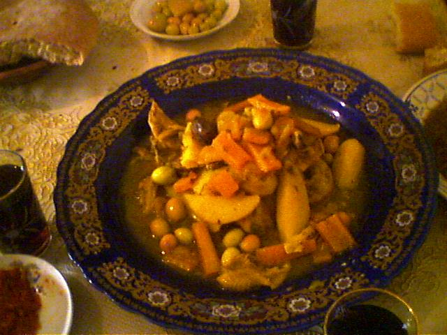 Filemoroccan Feast Chicken And Olivesg Wikipedia