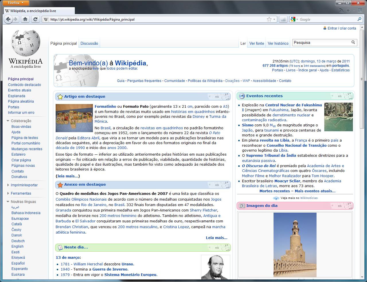 Mozilla Firefox 4 – Wikipédia, a enciclopédia livre