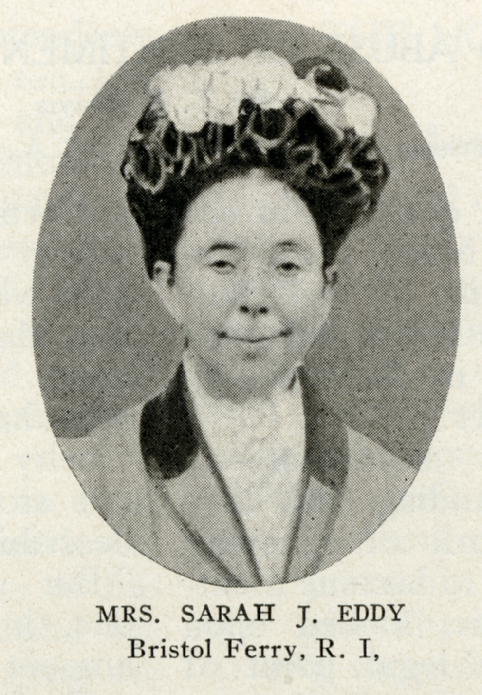Image of Miss Sarah J. Eddy from Wikidata