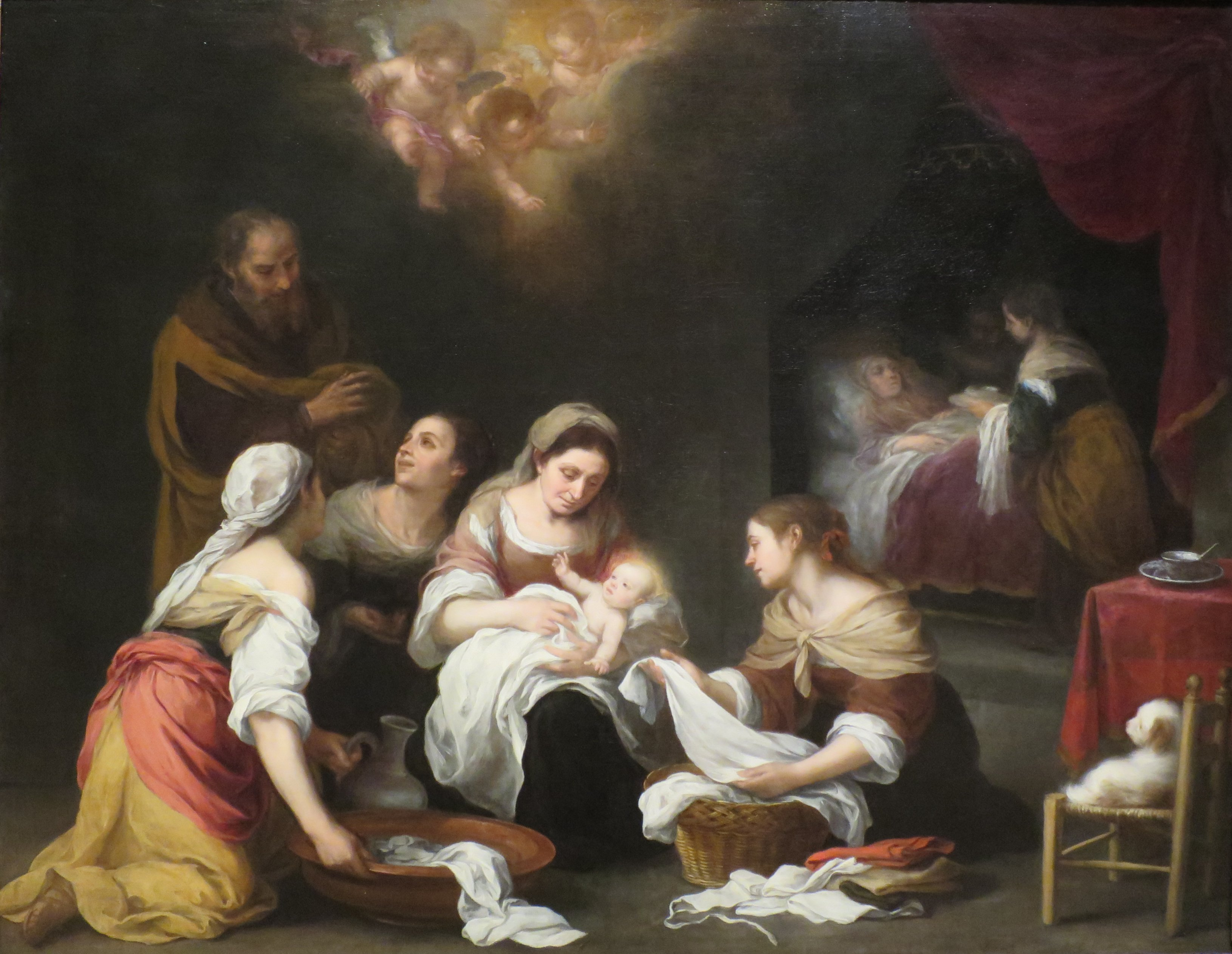 Archivo:Murillo.Nacimiento de San Juan Bautista.JPG - Wikipedia, la ...