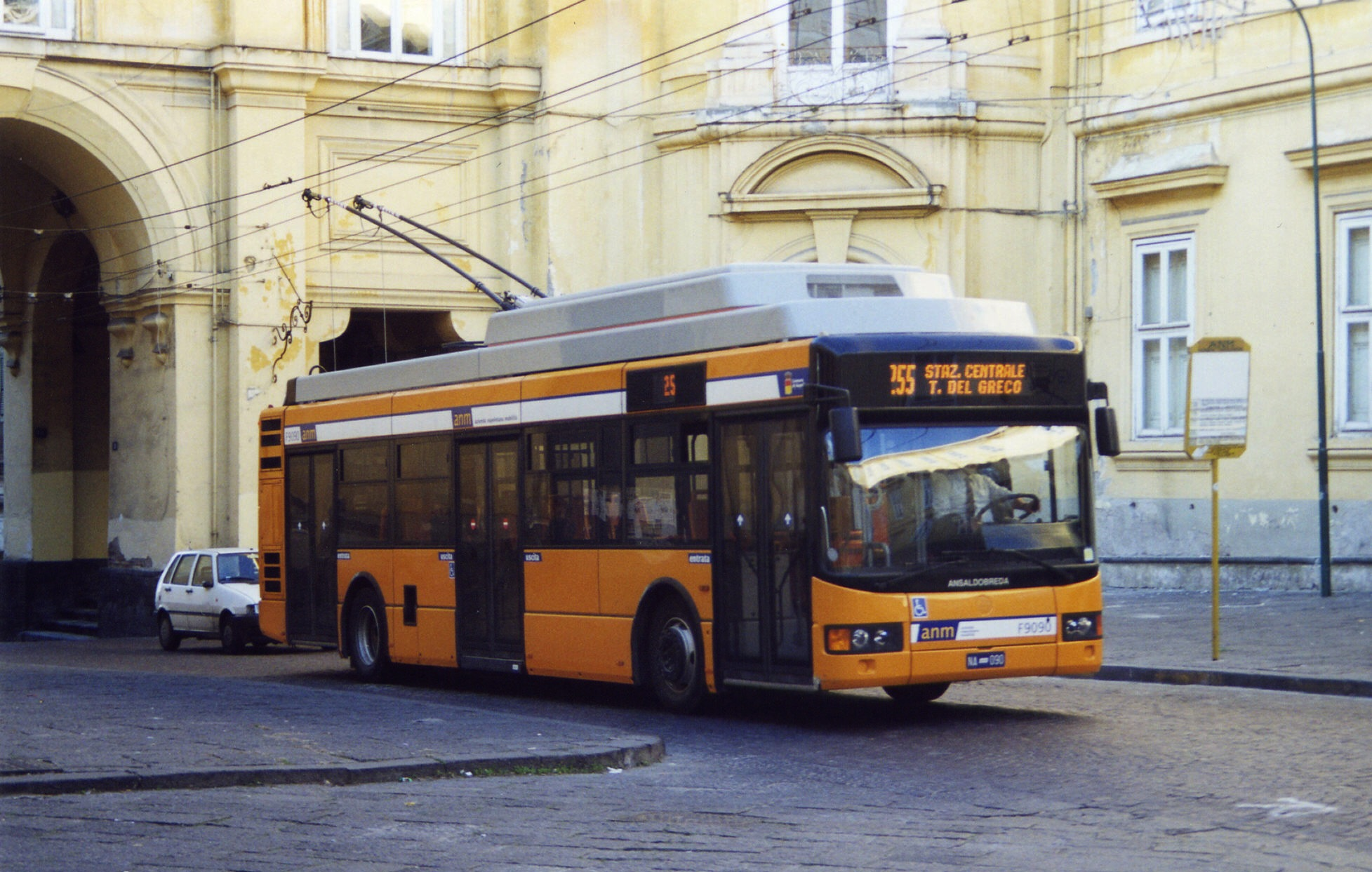 Image result for napoli trolleybus