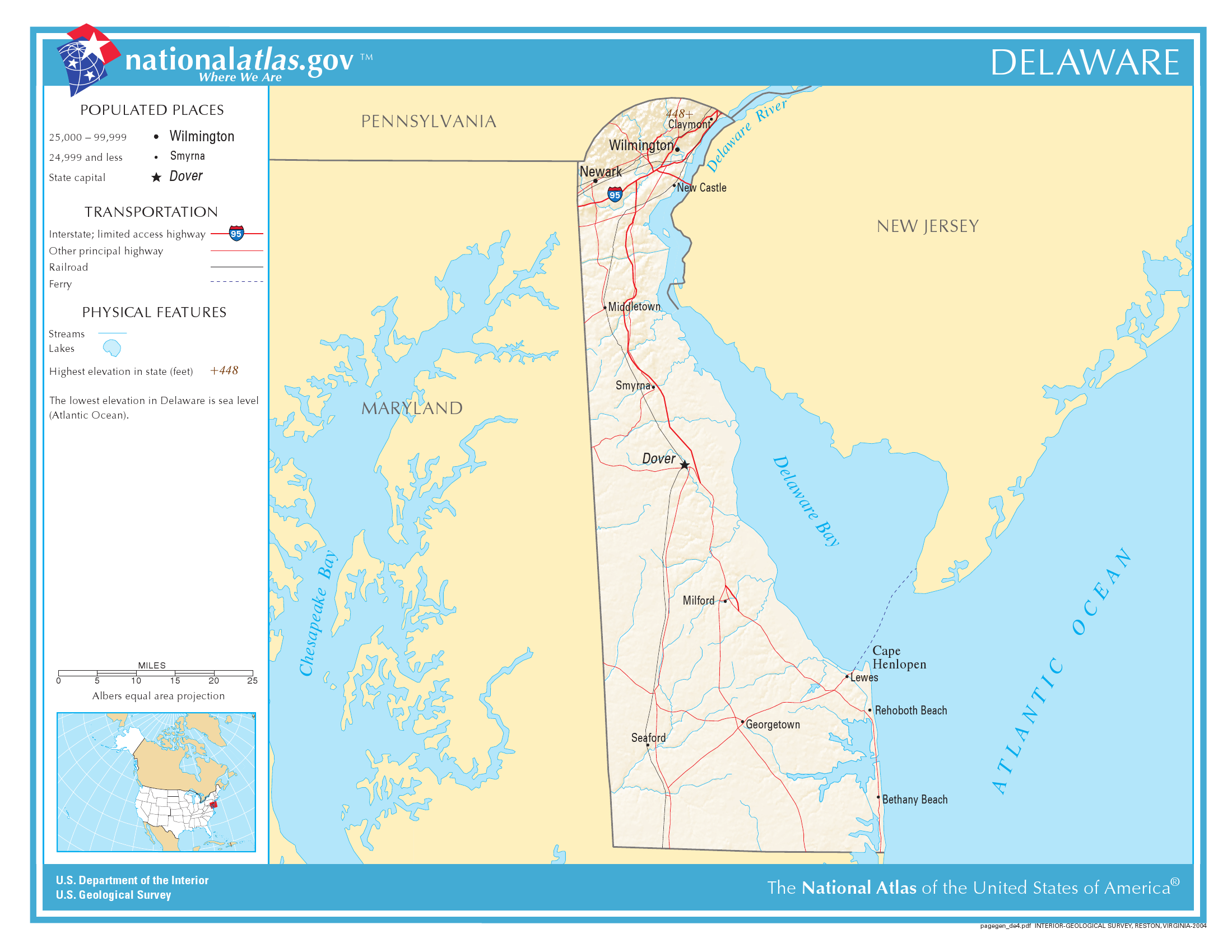 Usa Map Delaware Swimnovacom - Delaware river on us map
