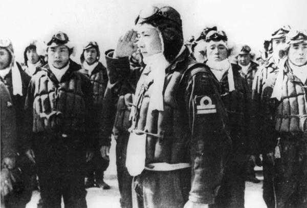 Navy Kamikaze Lieutenant