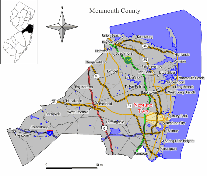 Neptune Township, New Jersey - Wikipedia, the free encyclopedianeptune township