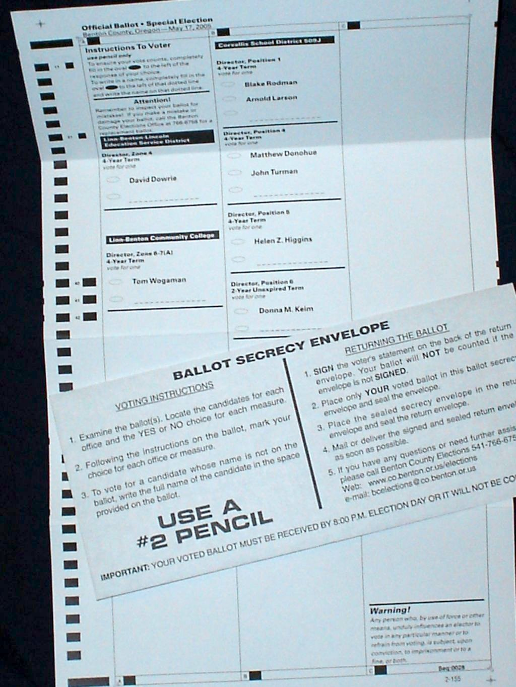 General Election Ballots Mailed to Washington Voters This Week
