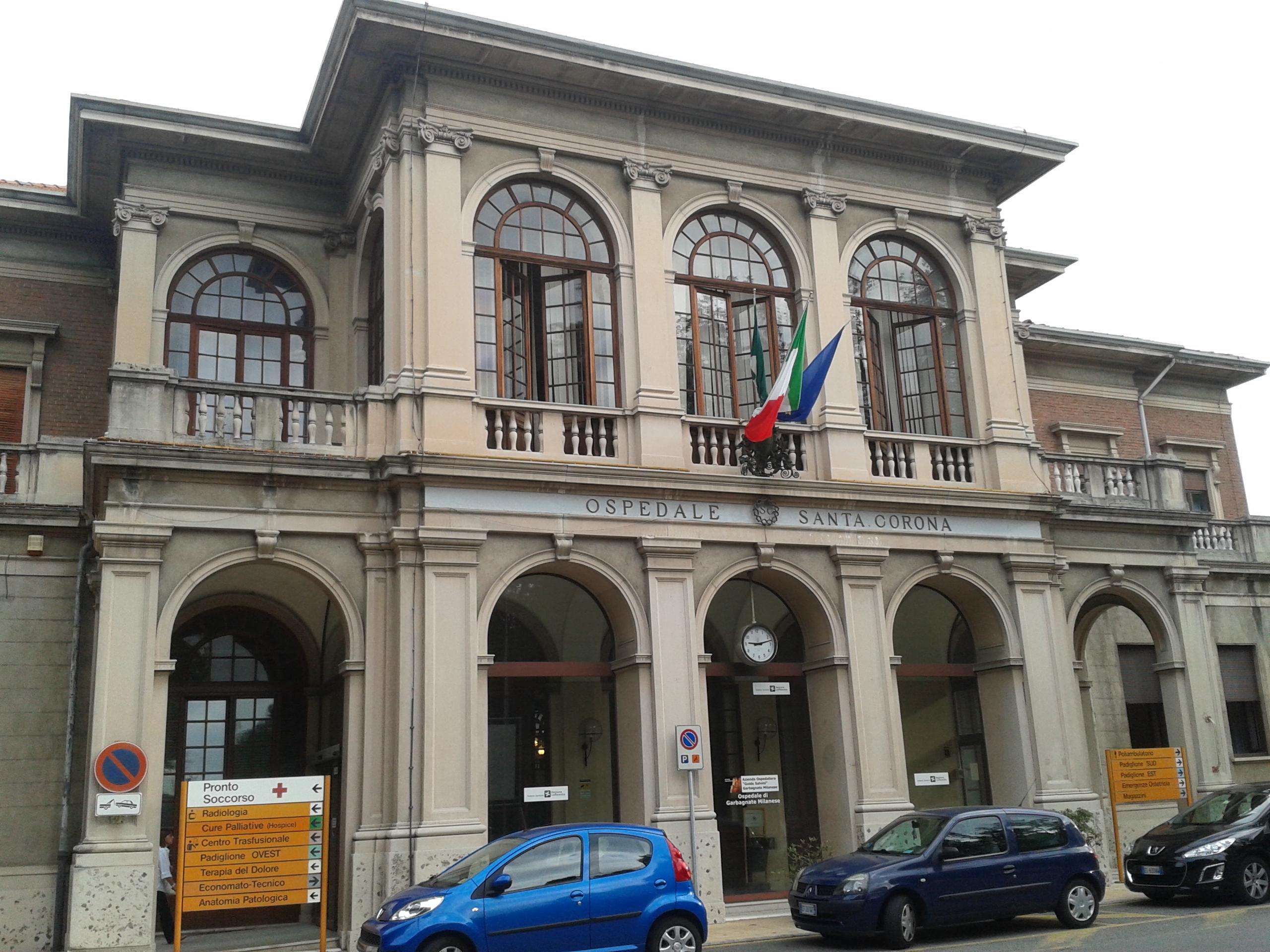 File:Ospedale di Garbagnate Milanese - ingresso principale - 2013 ...