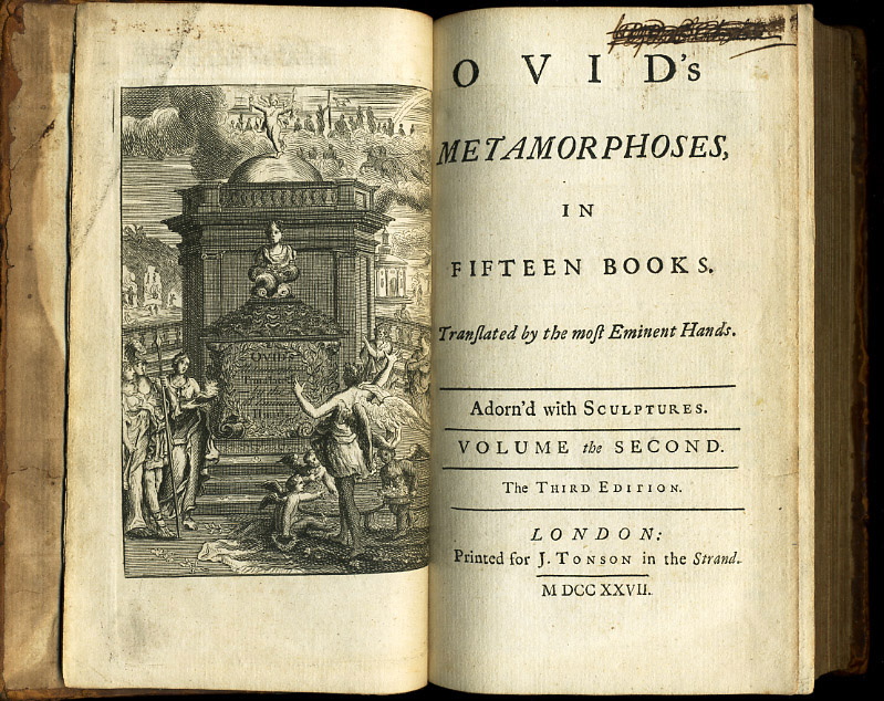 ovid the metamorphoses Free kindle book and epub digitized and proofread by project gutenberg.