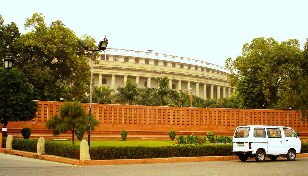 how to make a model of indian parliament