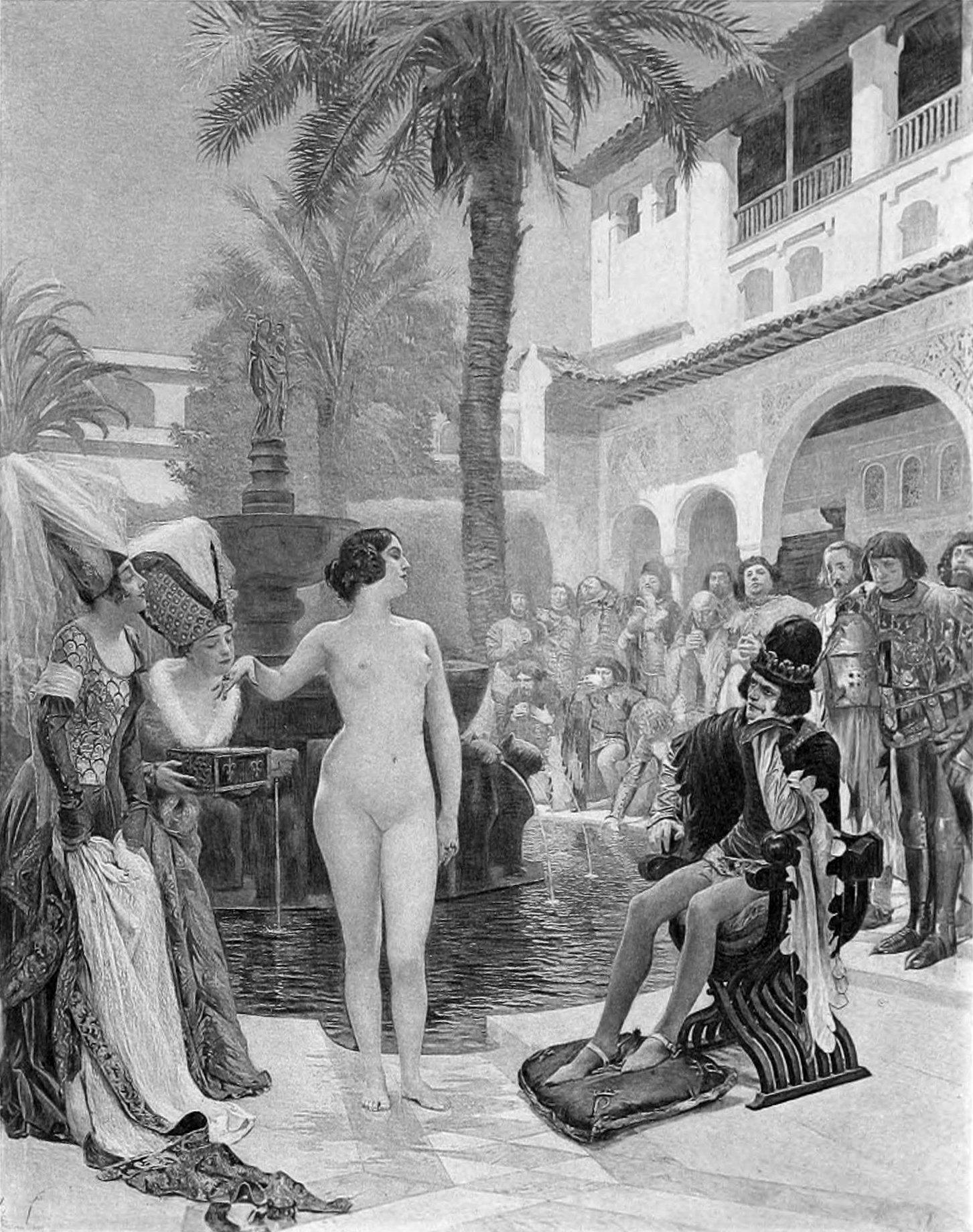 María Padilla, desnuda en el Alcázar de Sevilla frente a Pedro I