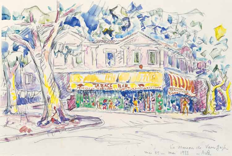 Image:Paul Signac Maison de Van Gogh Arles 1933.jpg