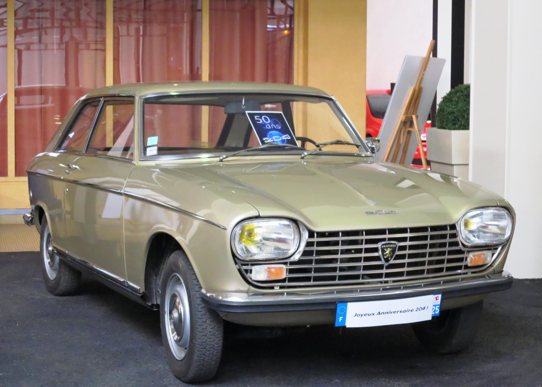 File:Peugeot 204 Coupé ca 1965 at Peugeot Museum.JPG