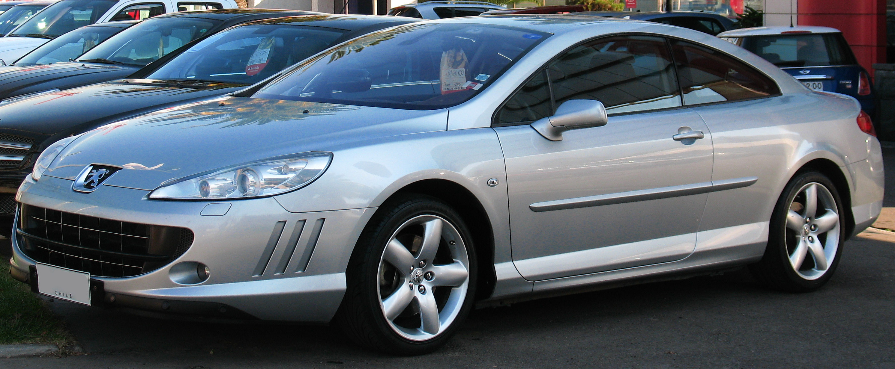 file peugeot 407 coupe 2 7 hdi 2006 15519269999 jpg wikimedia commons. Black Bedroom Furniture Sets. Home Design Ideas