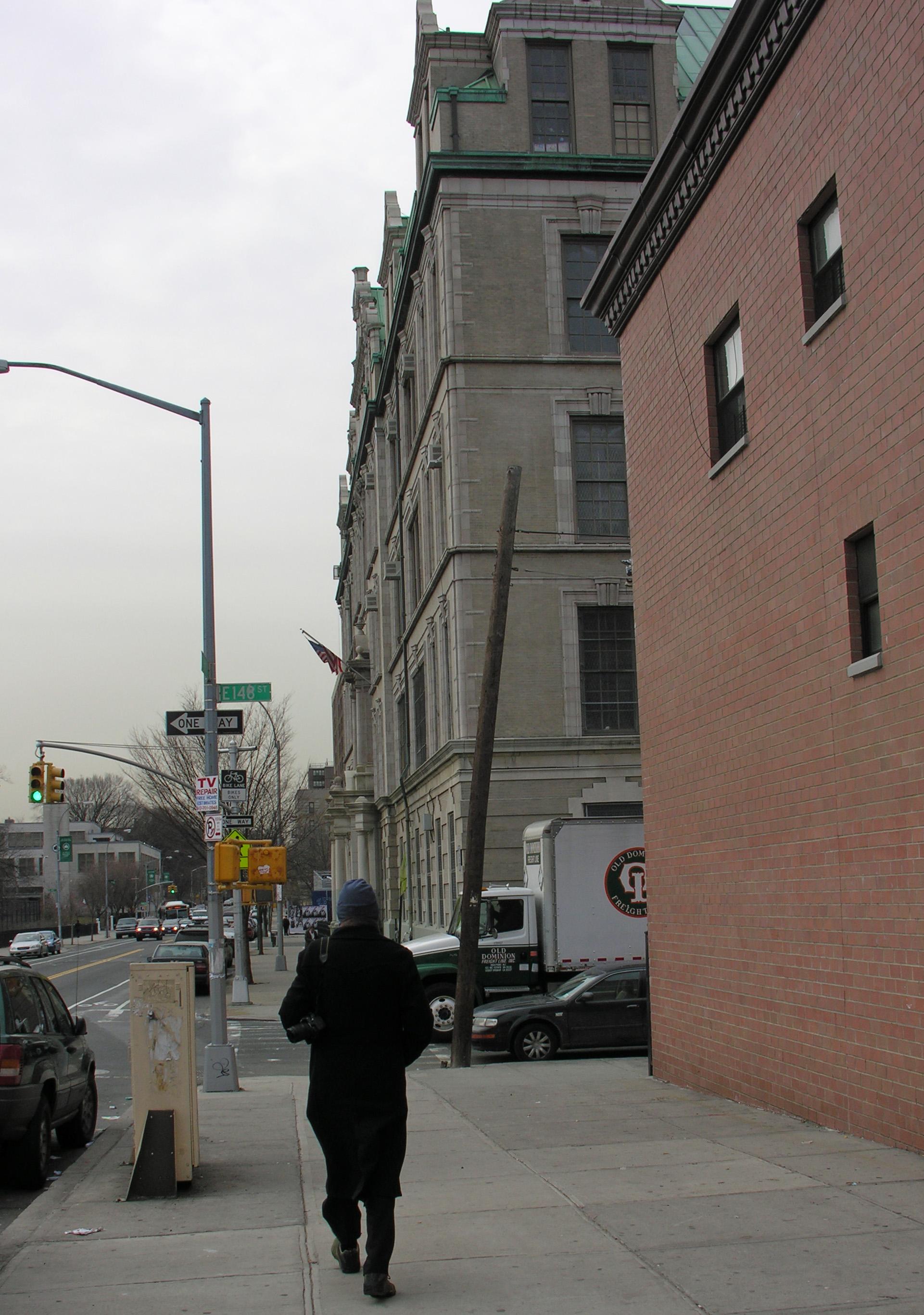 file phillip approaches 427 st ann s avenue the bronx new yotk