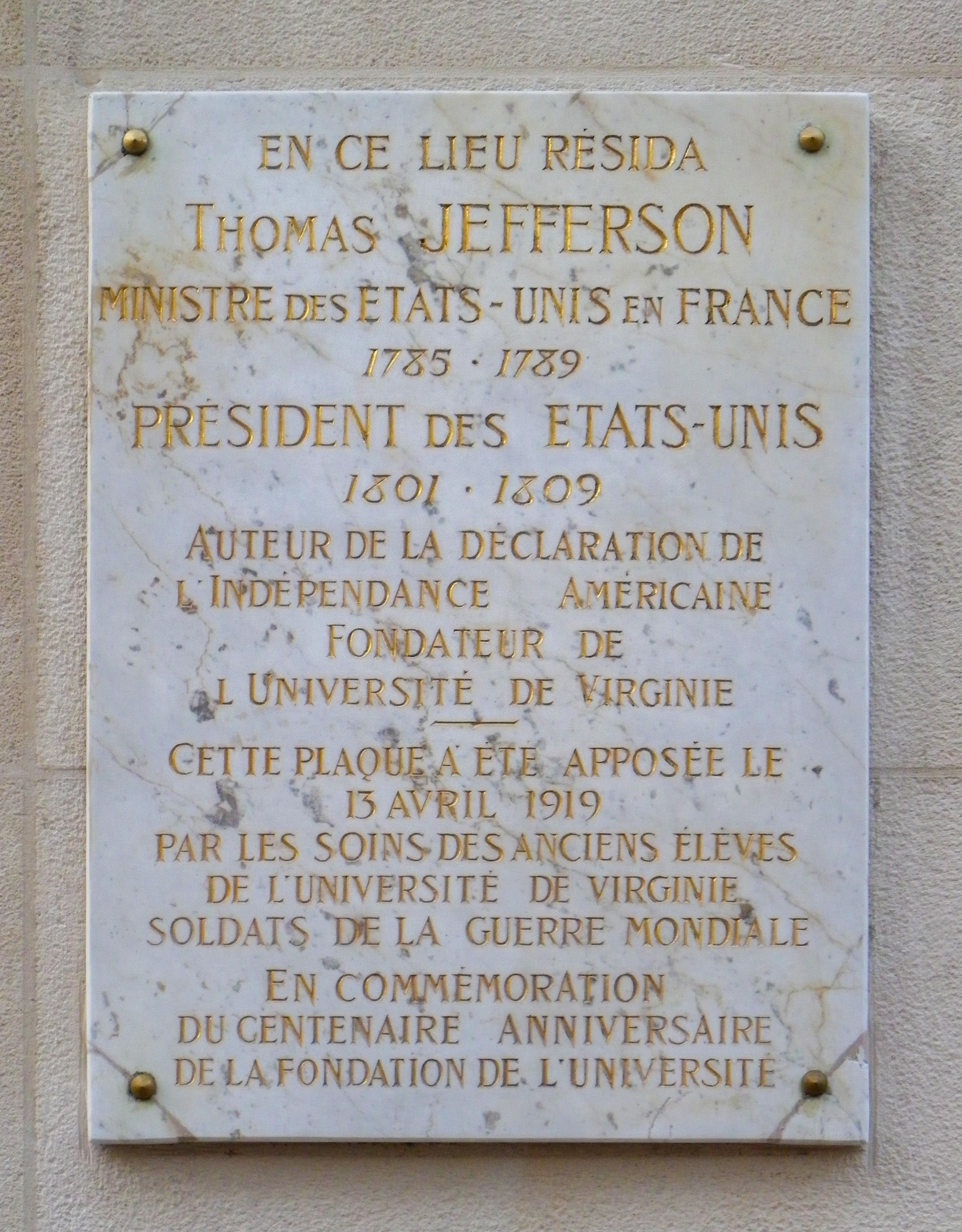 http://upload.wikimedia.org/wikipedia/commons/4/4c/Plaque_Thomas_Jefferson_au_92_avenue_des_Champs-Elysées_à_Paris.JPG